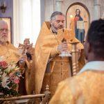 По благословению митрополита Григория на Кубани совершена первая Литургия на английском языке